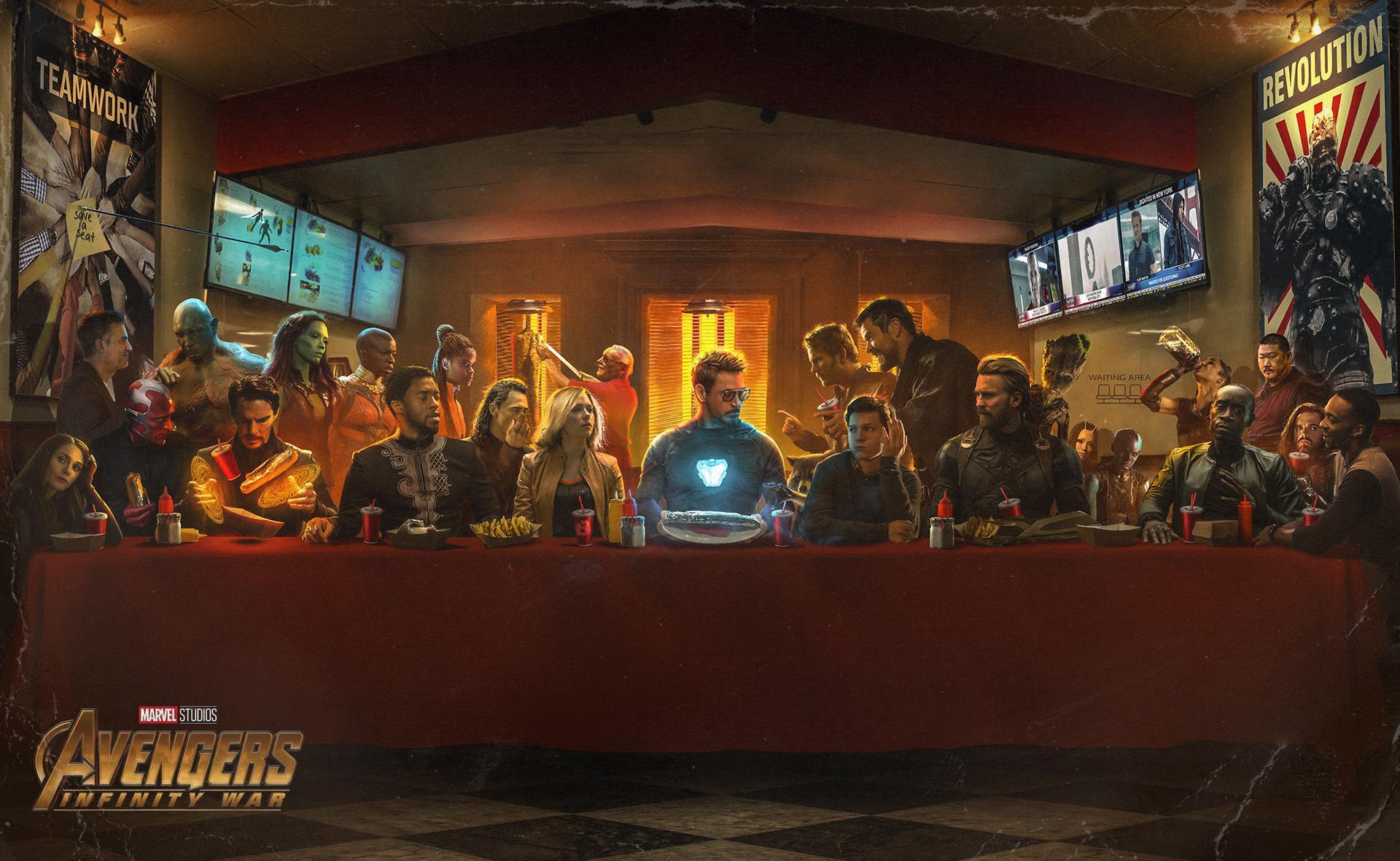 《复仇者联盟3:无限战争》(Avengers: Infinity War)第二支中文预告