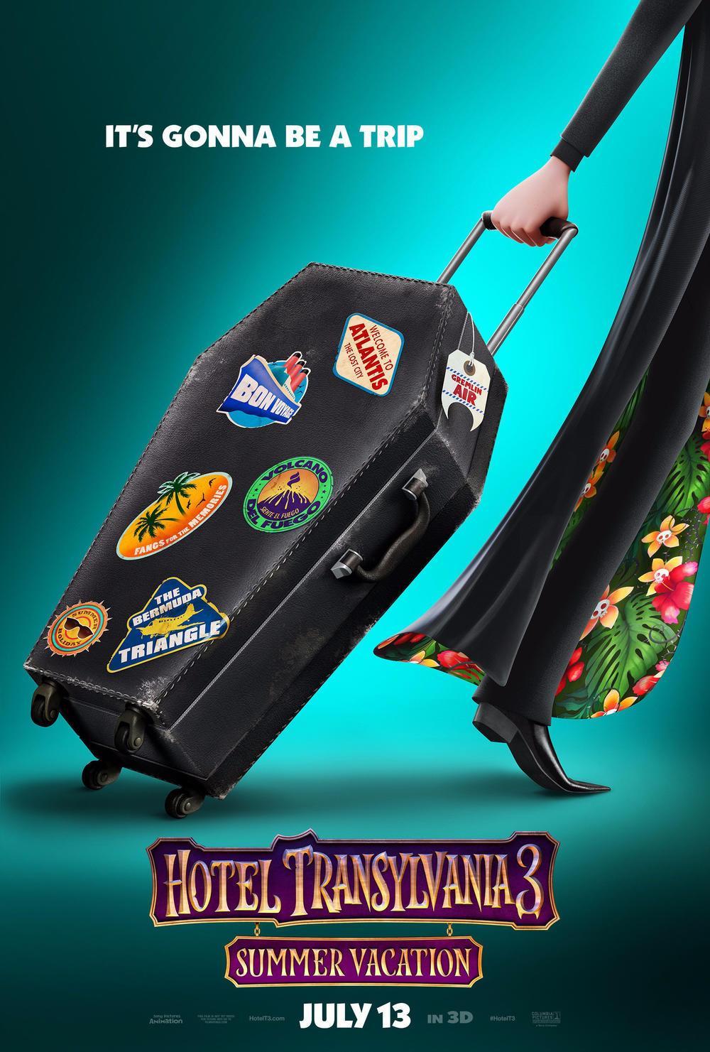 《精灵旅社3:疯狂假期》(Hotel Transylvania 3: Summer Vacation)曝光全新预告