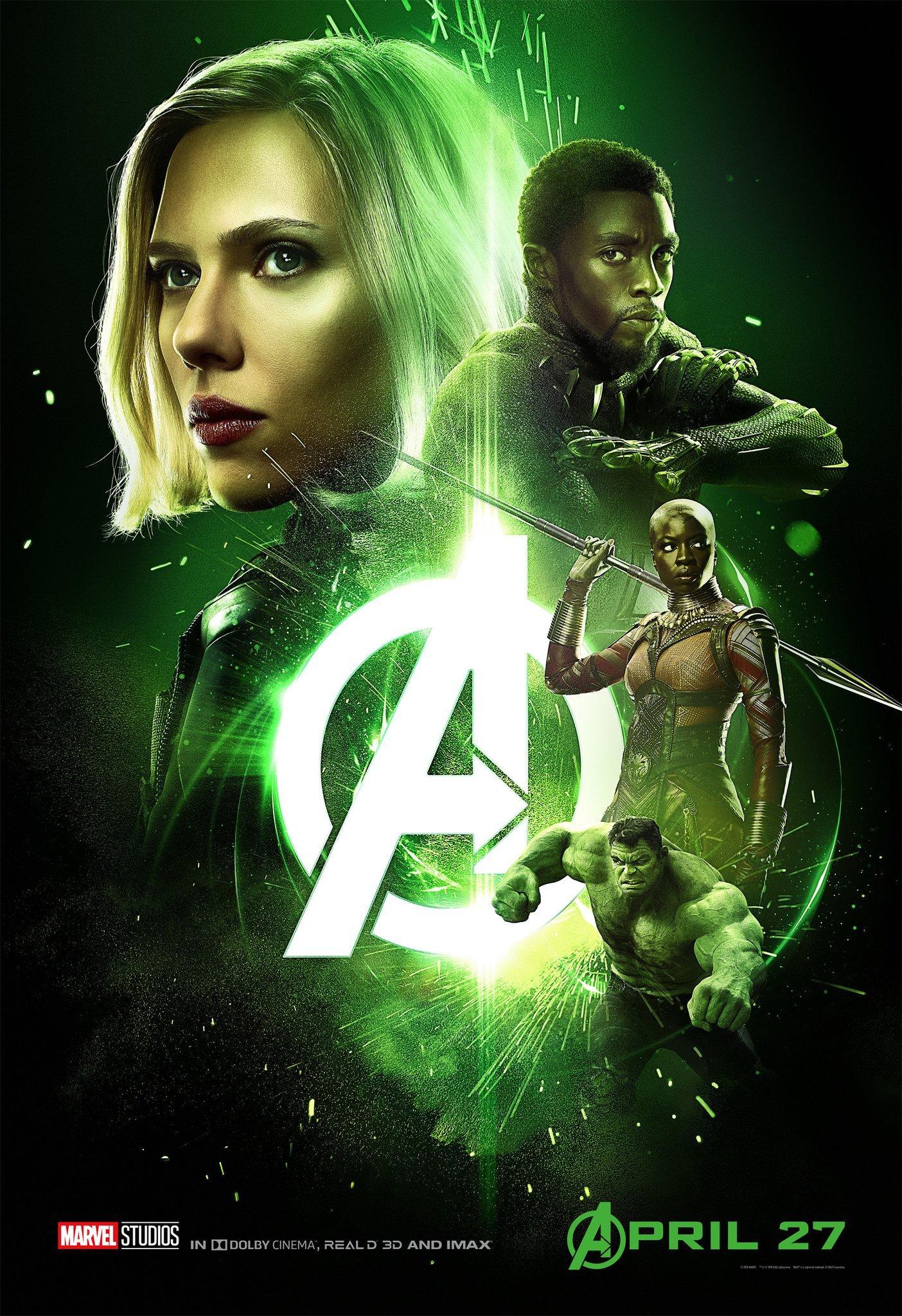 《复仇者联盟3:无限战争》海报