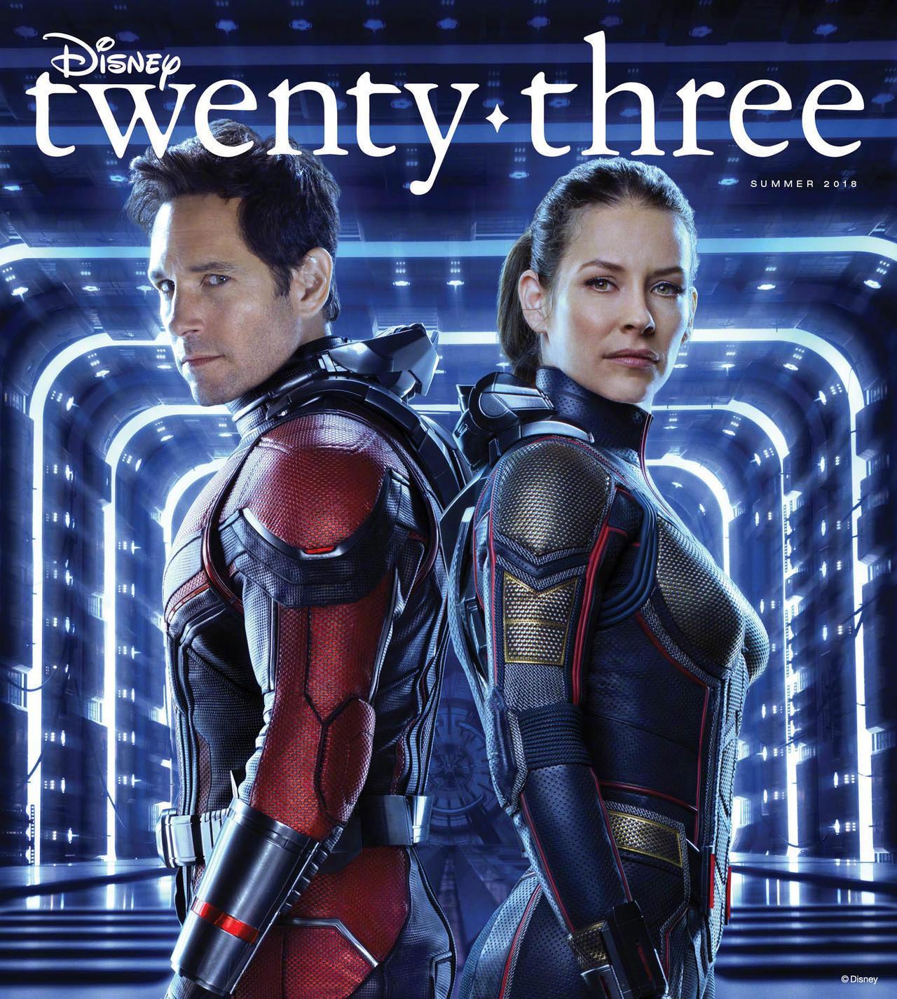 《蚁人2》双主角《复联3》IMAX海报 登迪士尼《D23》