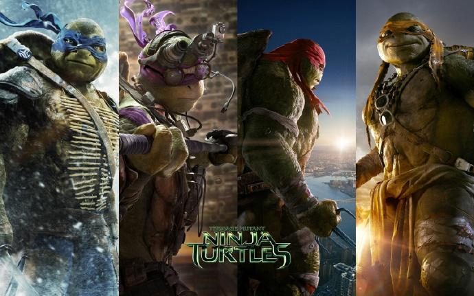 《忍者神龟》(Teenage Mutant Ninja Turtles)又要重启