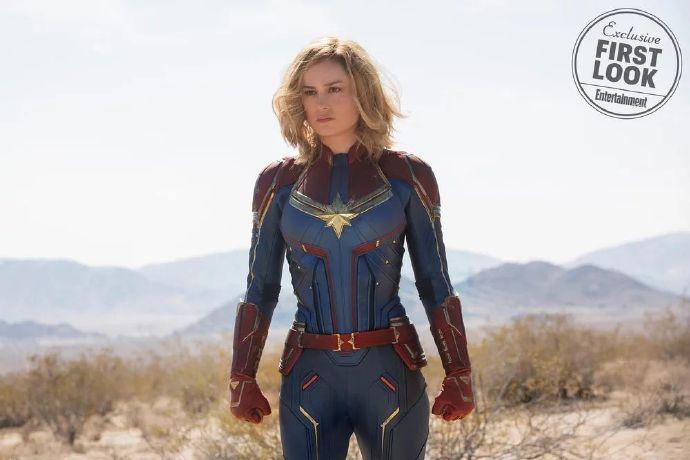 漫威《惊奇队长》(Captain Marvel)首曝剧照战袍亮相