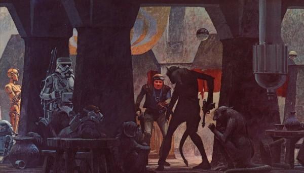 拉尔夫·麦克奎里《星球大战》概念原画欣赏
