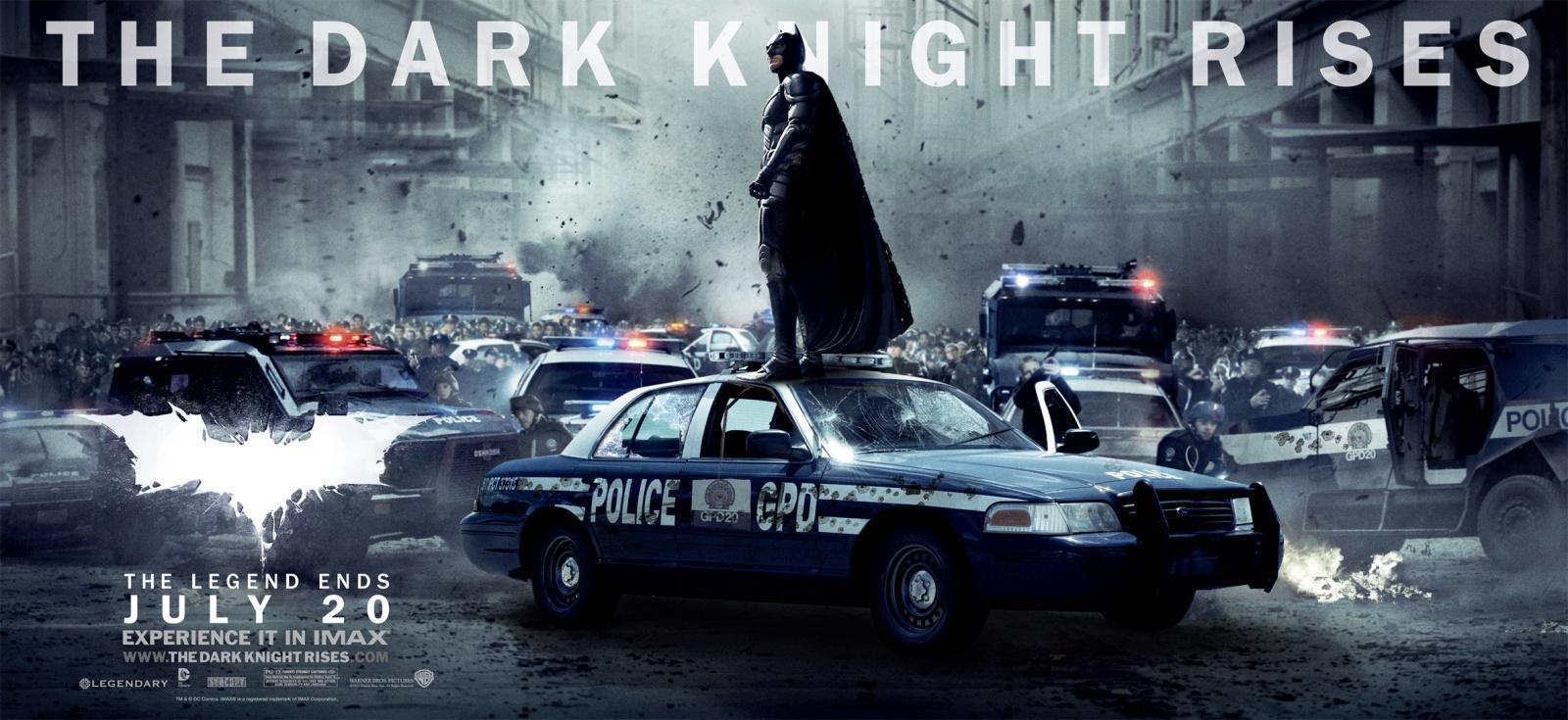 《黑暗骑士崛起》The Dark Knight Rises 4部电视宣传片段