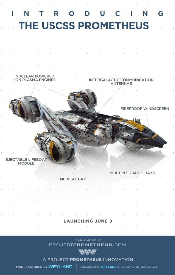 《普罗米修斯》(Prometheus)全新特辑 解密飞船设计理念