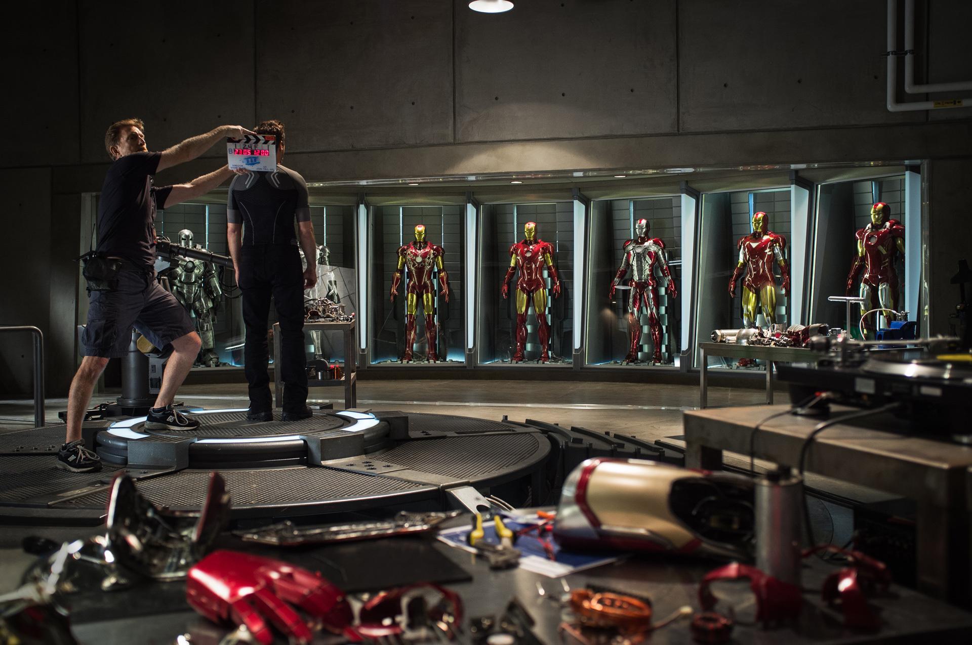 《钢铁侠3》(Iron Man 3)正式开拍 首张官方工作照曝光