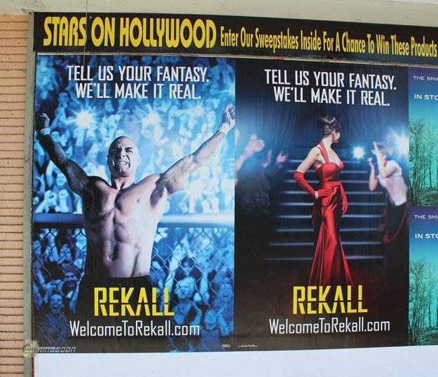 《全面回忆》(Total Recall)街头病毒行销海报:记得