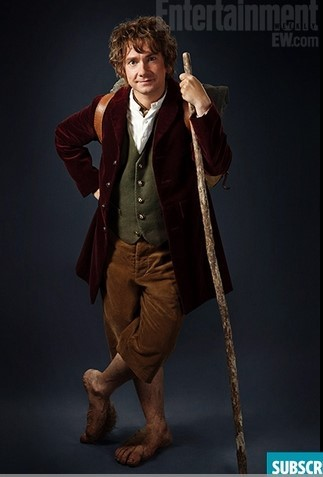 马丁·弗里曼(Martin Freeman)——比尔伯·巴金斯(Bilbo Baggins)