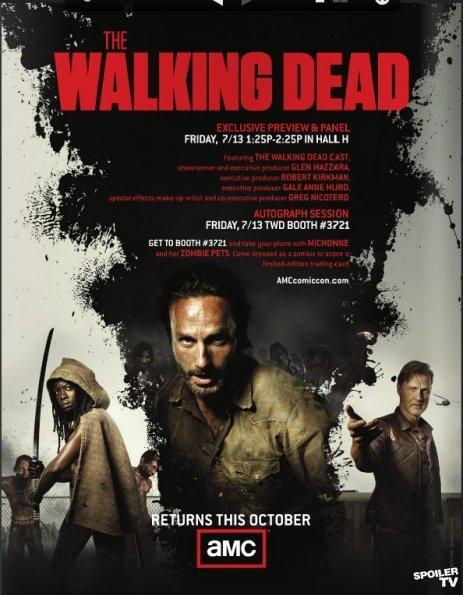 《行尸走肉》(The Walking Dead)第三季首个正式四分钟预告片