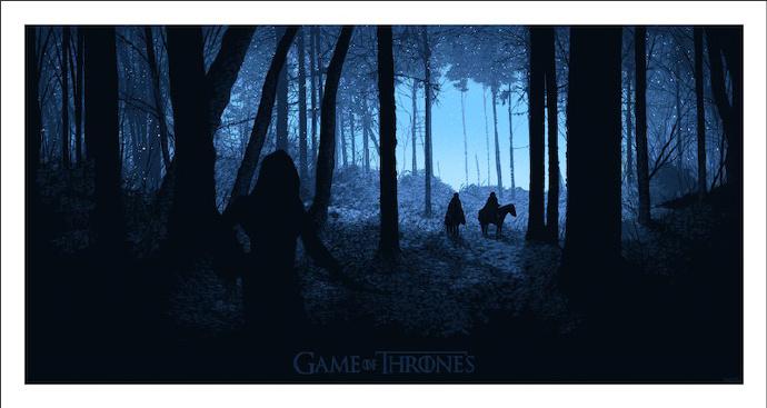 《权力的游戏》(Game of Thrones) Mondo限量海报 众卡司将亮相动漫展
