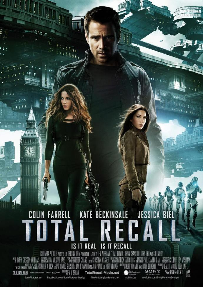 《全面回忆》(Total Recall)连曝制作特辑及片段 揭秘悬停车追逐+动作戏