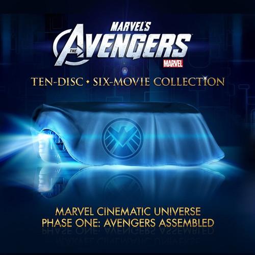 漫威复仇者联盟蓝光套装《漫威宇宙:第一阶段》套装曝光
