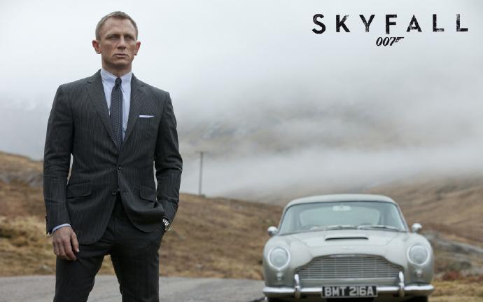 《007:天幕危机》(Skyfall)新曝拍摄日志 邦德经典座驾回归