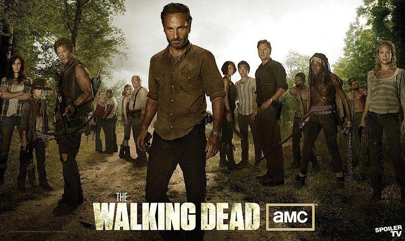 """《行尸走肉》(The Walking Dead)曝第三季""""全家福"""" 新角色抢眼"""