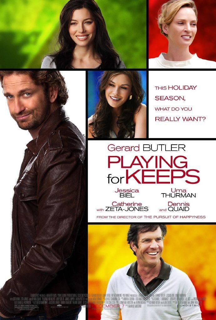 杰拉德·巴特勒新作《绿茵场》(Playing for Keeps)预告