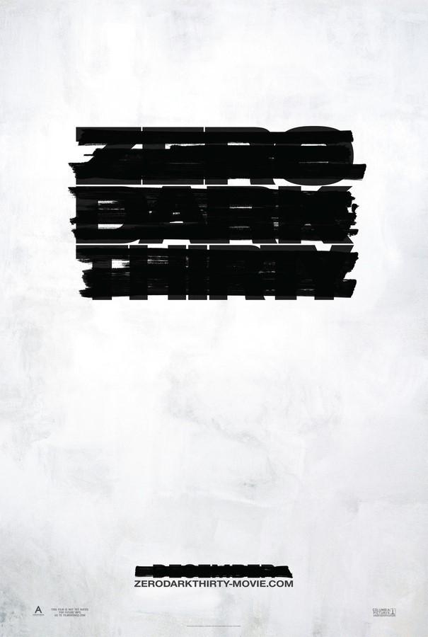 凯瑟琳·毕格罗《刺杀本·拉登》(Zero Dark Thirty)首曝海报