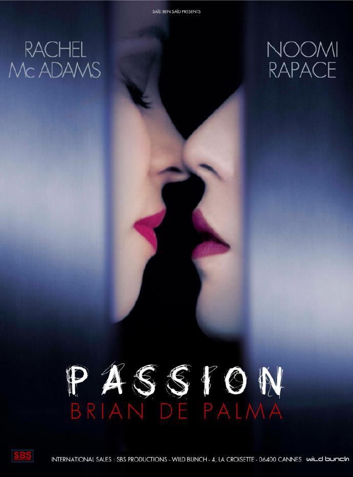 德·帕尔玛惊悚新作《激情》(Passion)首曝预告 瑞秋劳米暧昧情虐