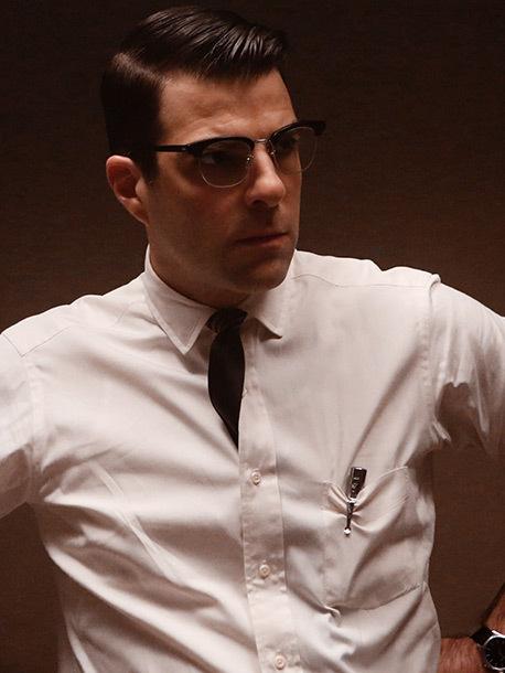 扎克瑞·昆图 饰演 Thredson博士,一位精神病医师因为自己直接的思考方式与修女Jude有很大的分歧
