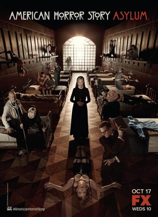 《美国怪谭:疯人院》(American Horror Story: Asylum)曝正式海报继续先导预告