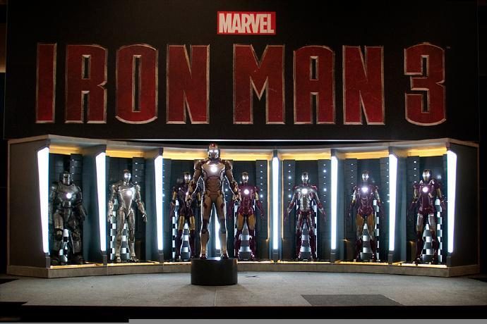传闻:《钢铁侠3》(Iron Man 3)中将出现几十套Mark盔甲