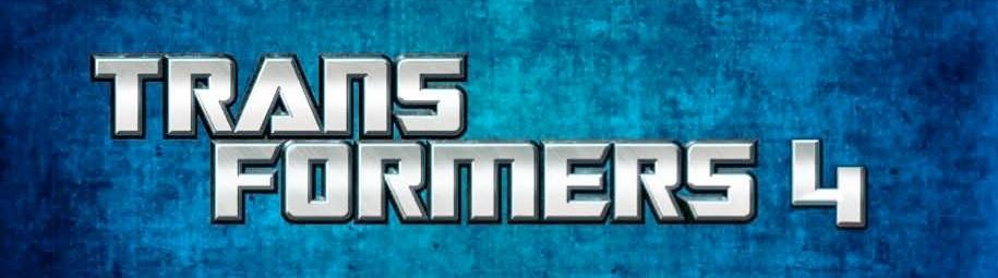 《变形金刚4》(Transformers 4)Logo发布,将换全新机器人角色