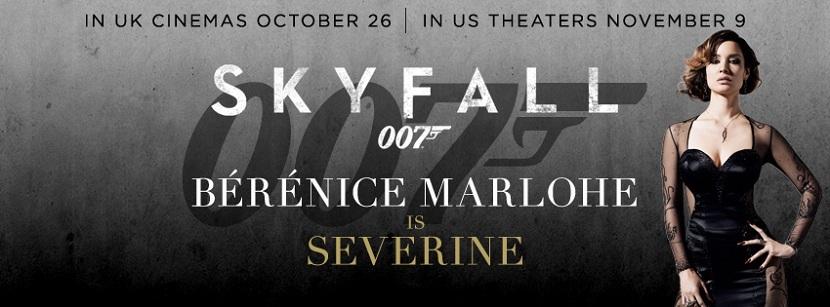 《007:大破天幕危机》(Skyfall)新曝海报以及横幅海报 拉尔夫费因斯亮相