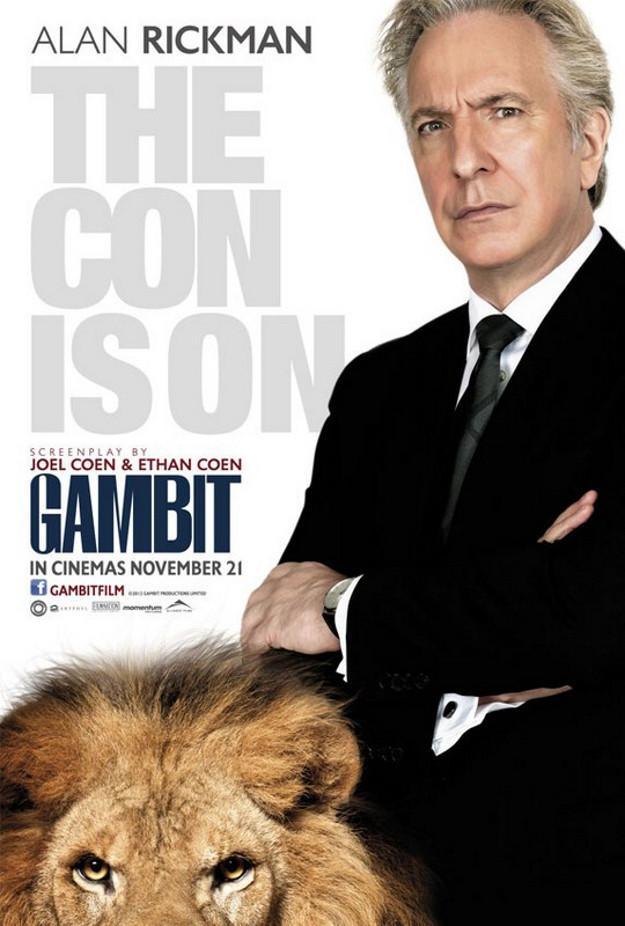 《神偷艳贼》(Gambit)首曝预告 科恩兄弟操刀科林费斯领衔