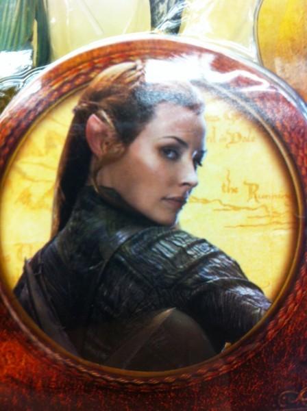 伊万杰琳·莉莉(Evangeline Lilly)《霍比特人》中精灵造型曝光