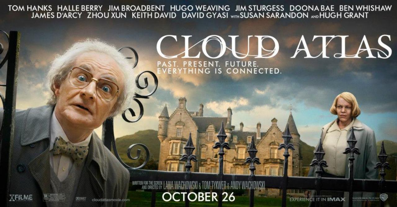 《云图》(Cloud Atlas)横版海报七连发