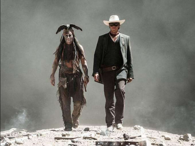 约翰尼·德普《游侠传奇》(The Lone Ranger)再曝预告片 #2