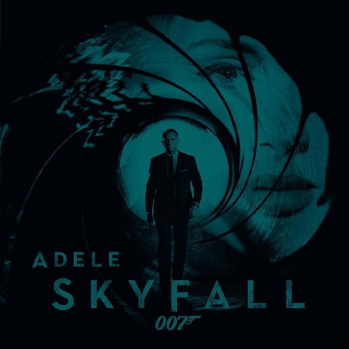 阿黛尔(Adele)演唱007电影《Skyfall》主题歌完整版(MV)