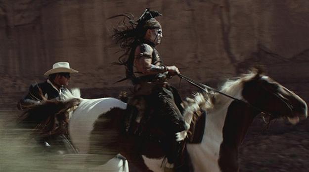 约翰尼·德普《游侠传奇》(The Lone Ranger)最新预告以及海量剧照