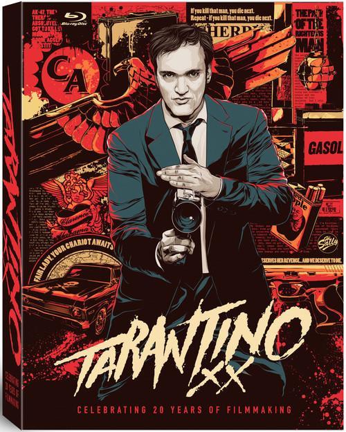 昆汀·塔伦蒂诺(Quentin Tarantino)纪念出道20周年 八部作品10碟蓝光套装将发