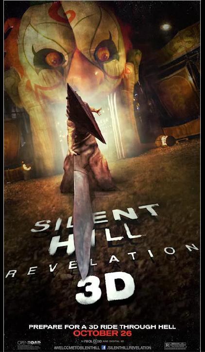 《寂静岭2》(Silent Hill: Revelation 3D)发布动态海报
