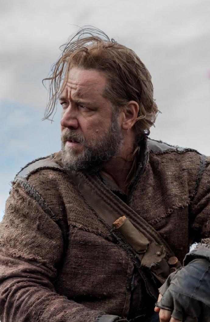 达伦新片《诺亚》(Noah)片场照 大反派负伤亮相