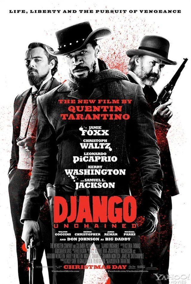 昆汀《被解放的迪亚戈》(Django Unchained)最新海报