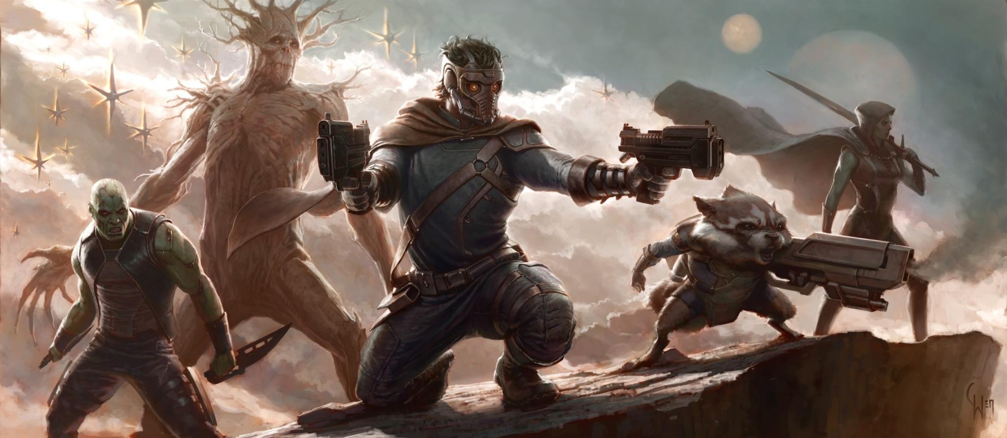 漫威《银河守卫者》(Guardians of the Galaxy)试镜星爵演员人选
