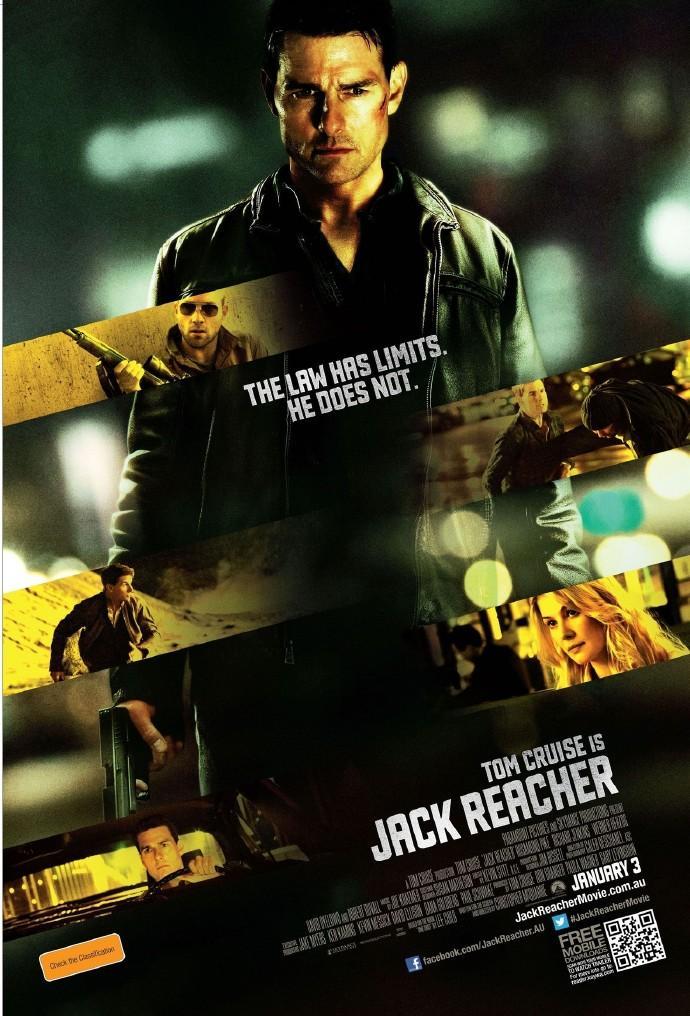 《烈探狙击》(Jack Reacher)首曝动作片段 阿汤哥下狠手以一敌五