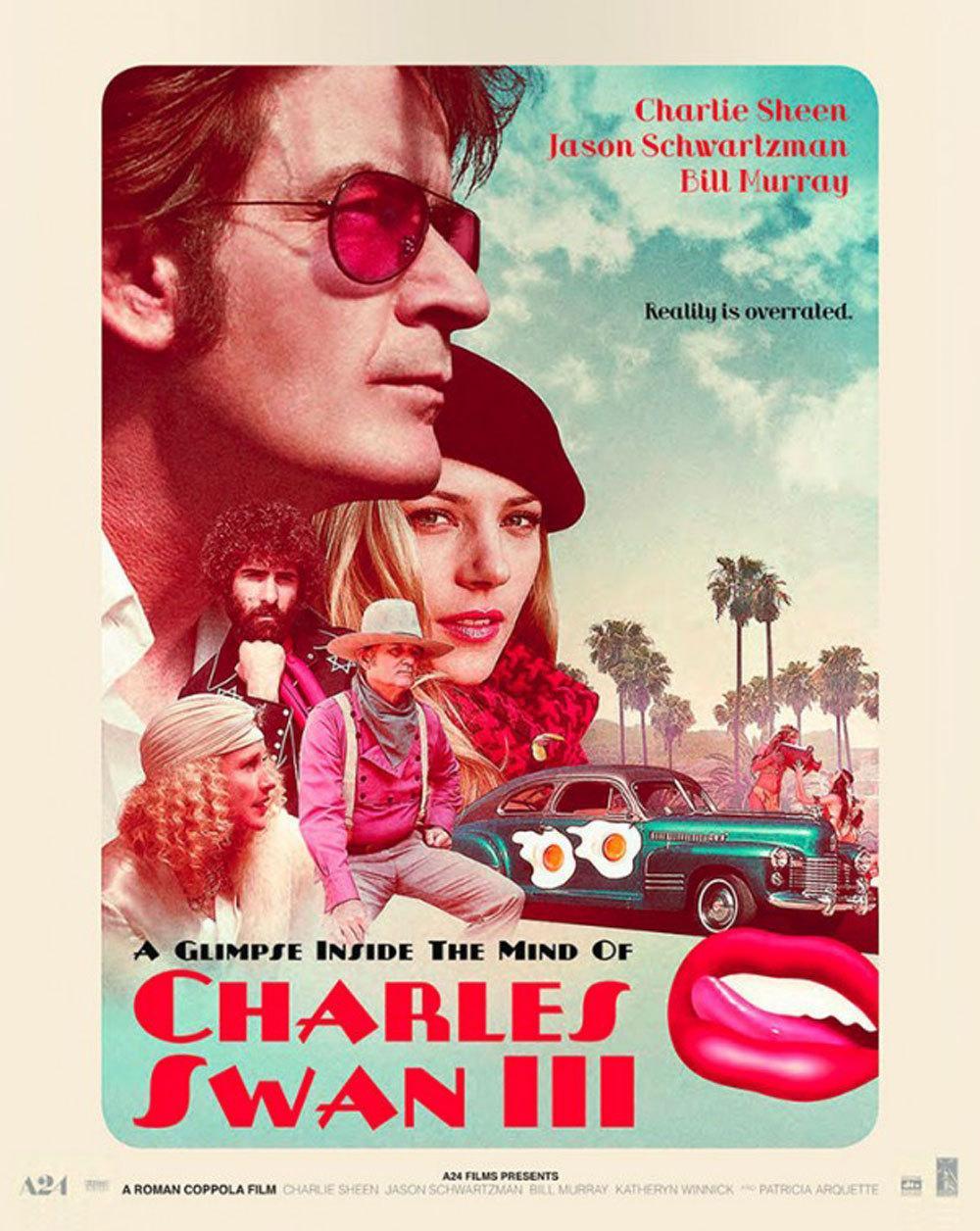 科波拉之子导演新片《查尔斯的心灵》首曝预告 查理·辛、比尔·默瑞领衔