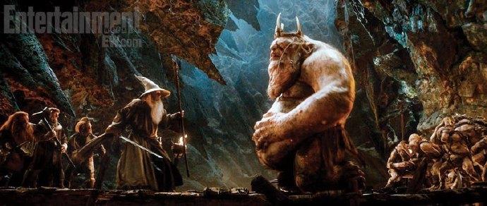 《霍比特人1:意外旅程》中的地妖王、射龙者巴德、史矛革等 剧照