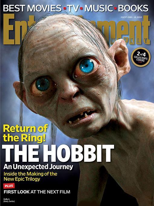 《娱乐周刊》公布《霍比特人1:意外旅程》中的地妖王、射龙者巴德、史矛革等 剧照