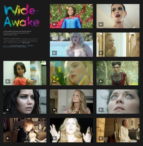 """《纽约时报》杂志2012年末巨献:13位好莱坞女星演绎""""清醒时分"""""""