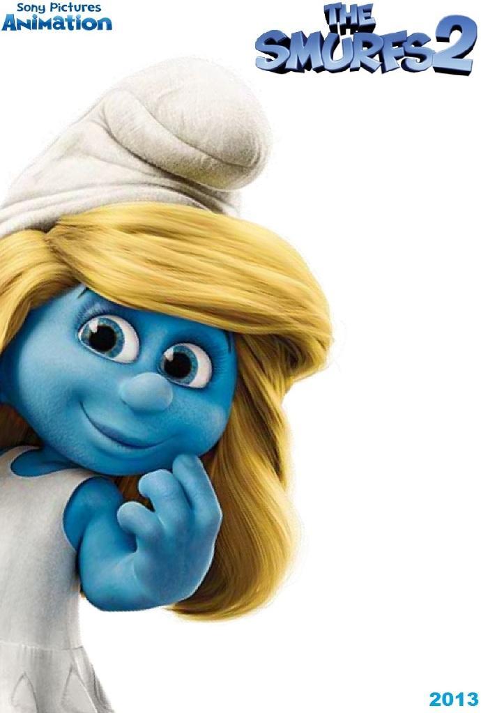3D《蓝精灵2》(The Smurfs 2)中文预告首发 淘气精灵亮相蓝妹妹邪恶变身