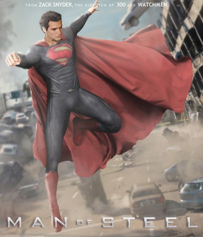 《超人:钢铁之躯》(Man of Steel)全球上映日期公布