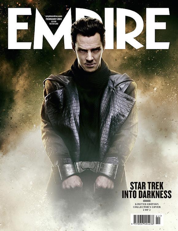 《帝国》杂志曝光《星际迷航:坠入黑暗》(Star Trek Into Darkness)大量剧照