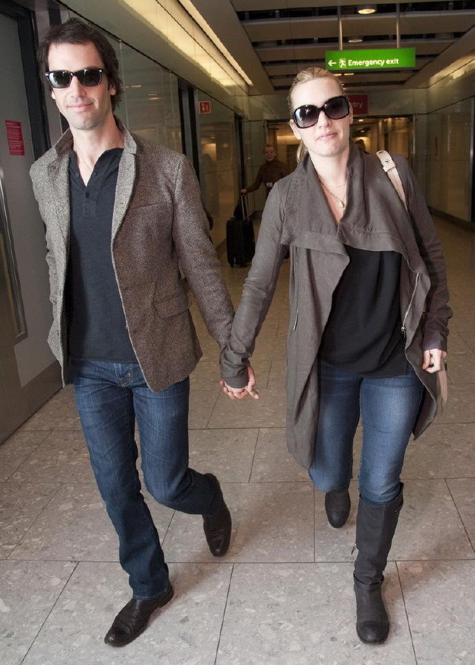 凯特·温丝莱特月初与男友内德·罗克努尔秘密结婚 莱昂纳多到场见证