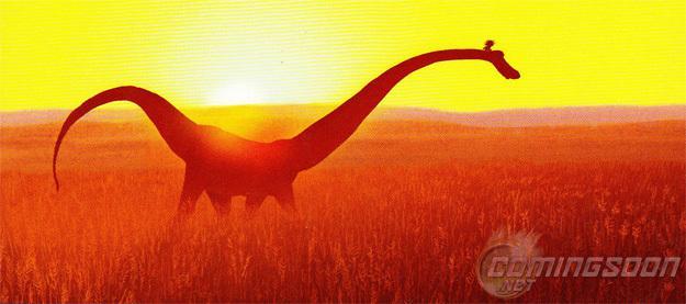 《好恐龙》(The Good Dinosaur)首张概念图