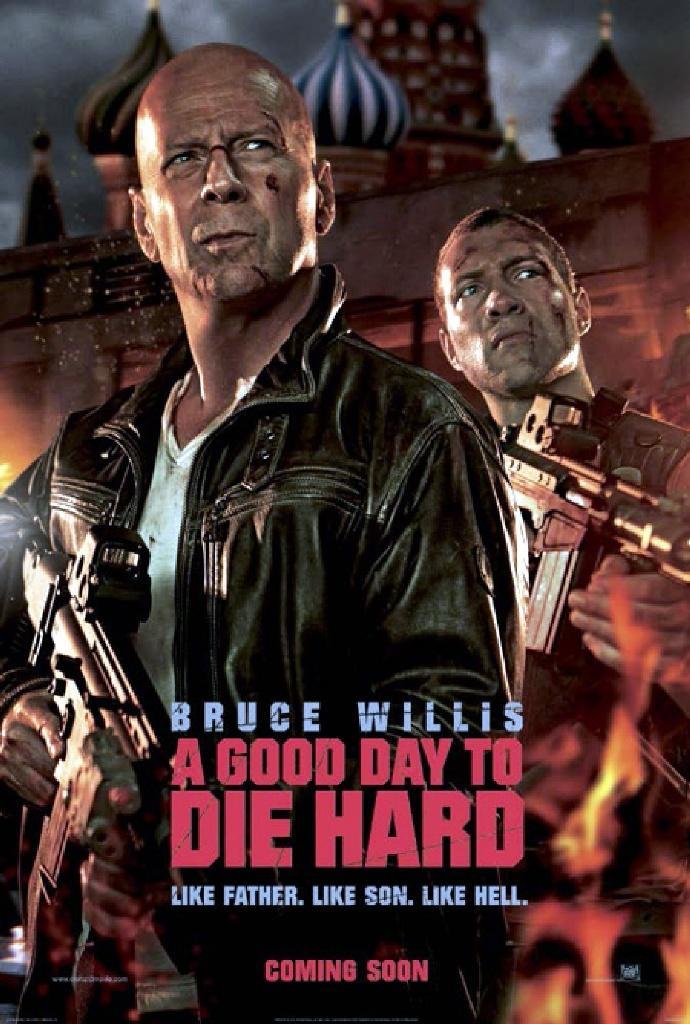 《虎胆龙威5》(A Good Day to Die Hard)曝中文全长预告 内地有望引进