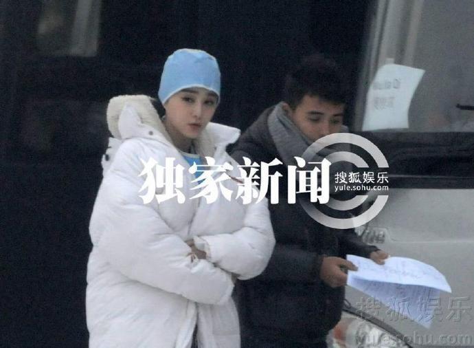 范冰冰秘密加盟《钢铁侠3》(Iron Man 3) 小护士造型曝光