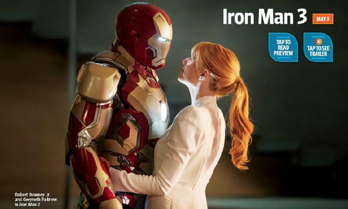 《钢铁侠3》(Iron Man 3)新剧照